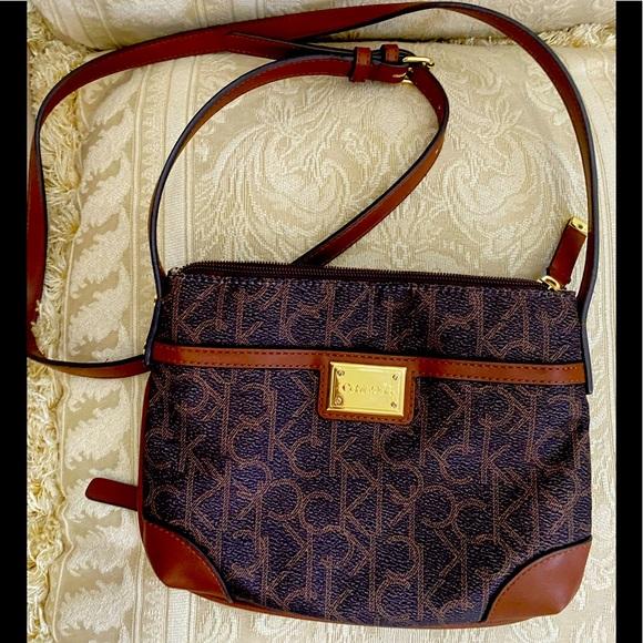 Calvin Klein -Crossbody bag/purse - brown/tan